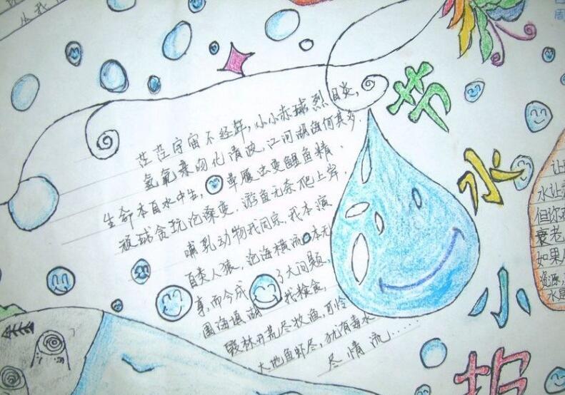 水的小报-世界水日的手抄报(二)   世界水日的手抄报(三)   世界水日的手抄