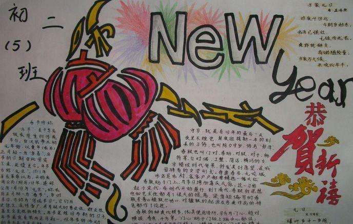 猴年手抄报(一) 【春节笑话】 春节的笑话一 解缙自幼