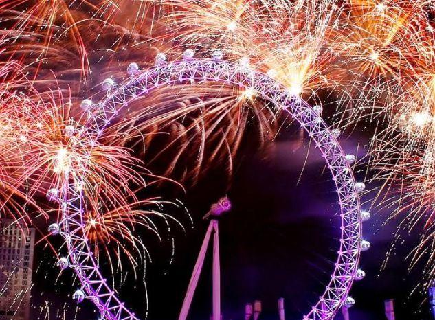 2018伦敦跨年烟火攻略图片